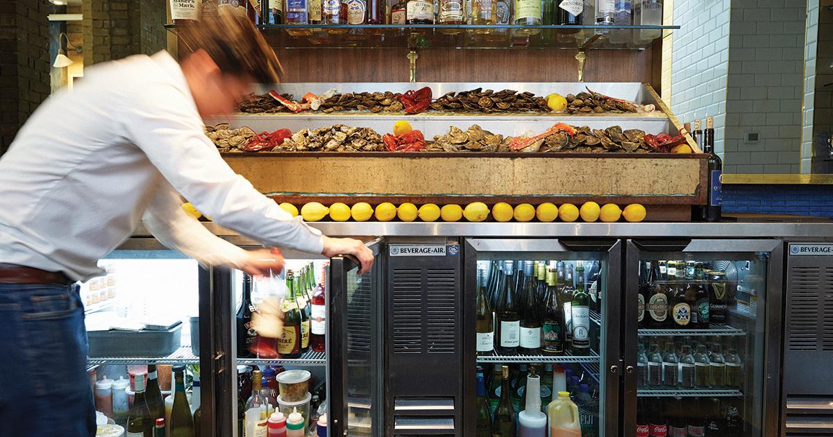 Beverage-Air Back Bar Refrigeration