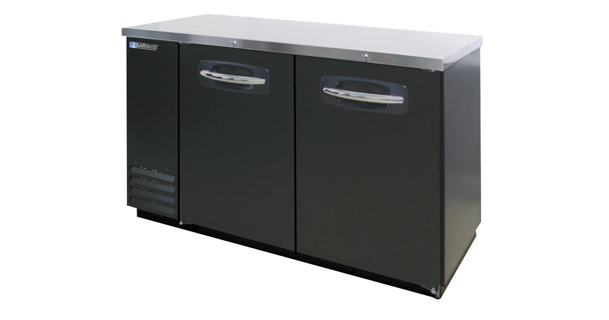 Master-Bilt MBBB59 Back Bar Refrigeration