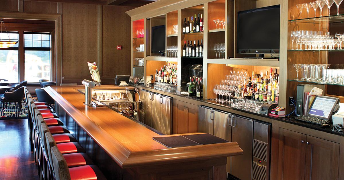 Midland Country Club Glastender Back Bar Refrigeration
