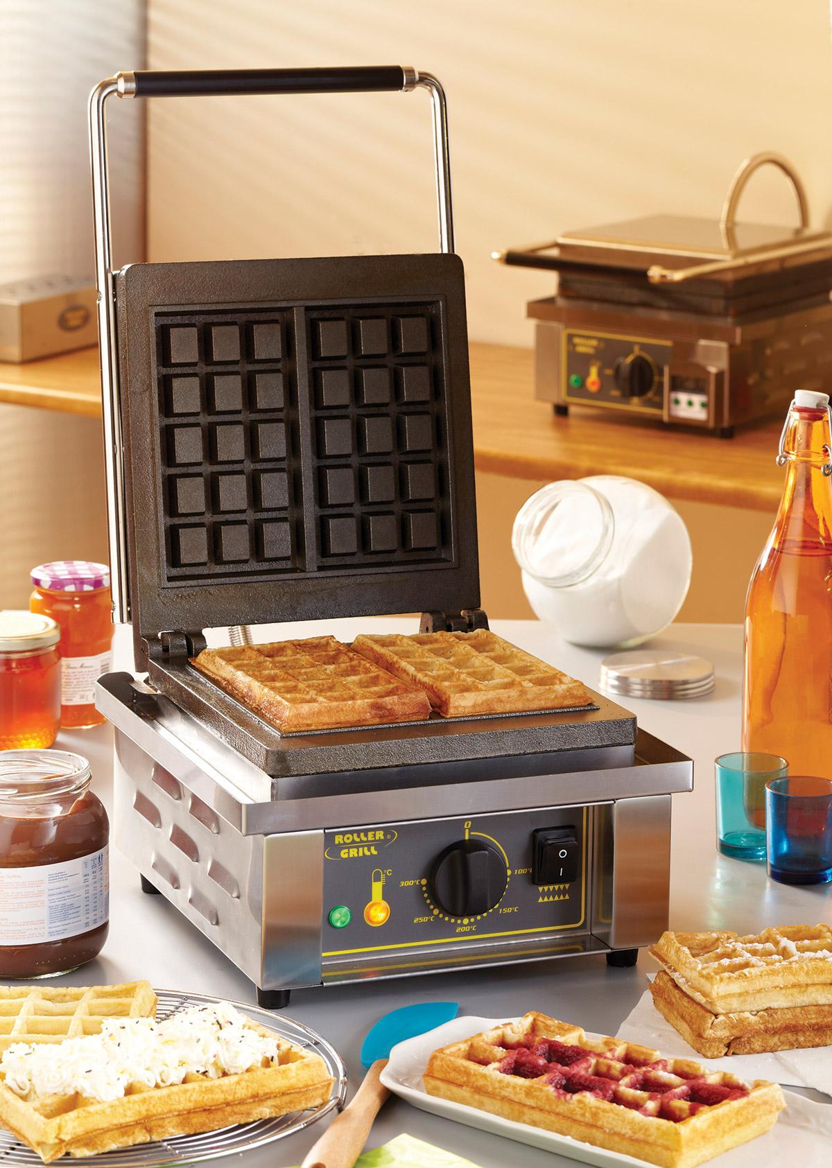 Equipex Waffle Iron