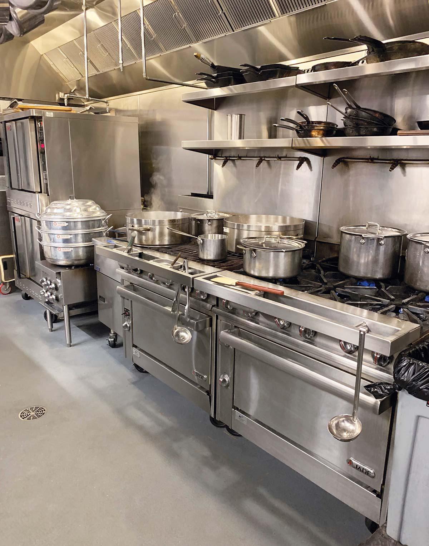 Pacific Standard Time Restaurant Kitchen
