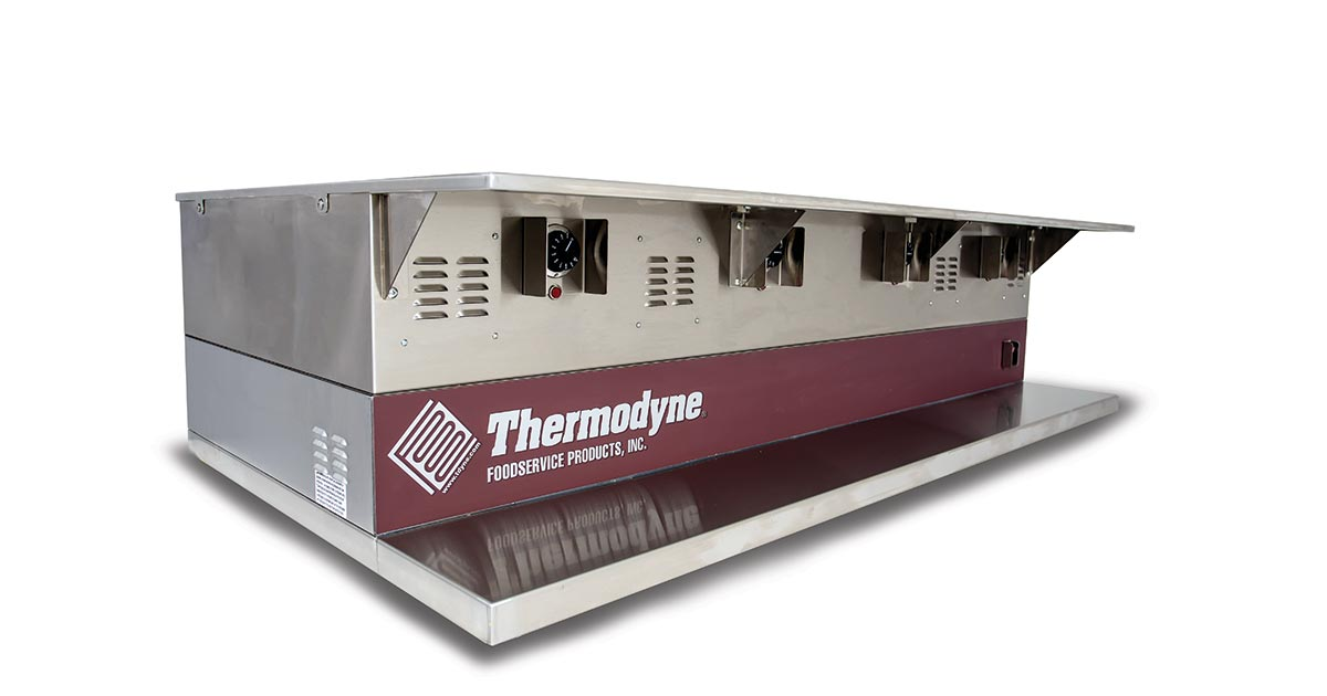 Thermodyne Freestanding Countertop Drop In Hot Well
