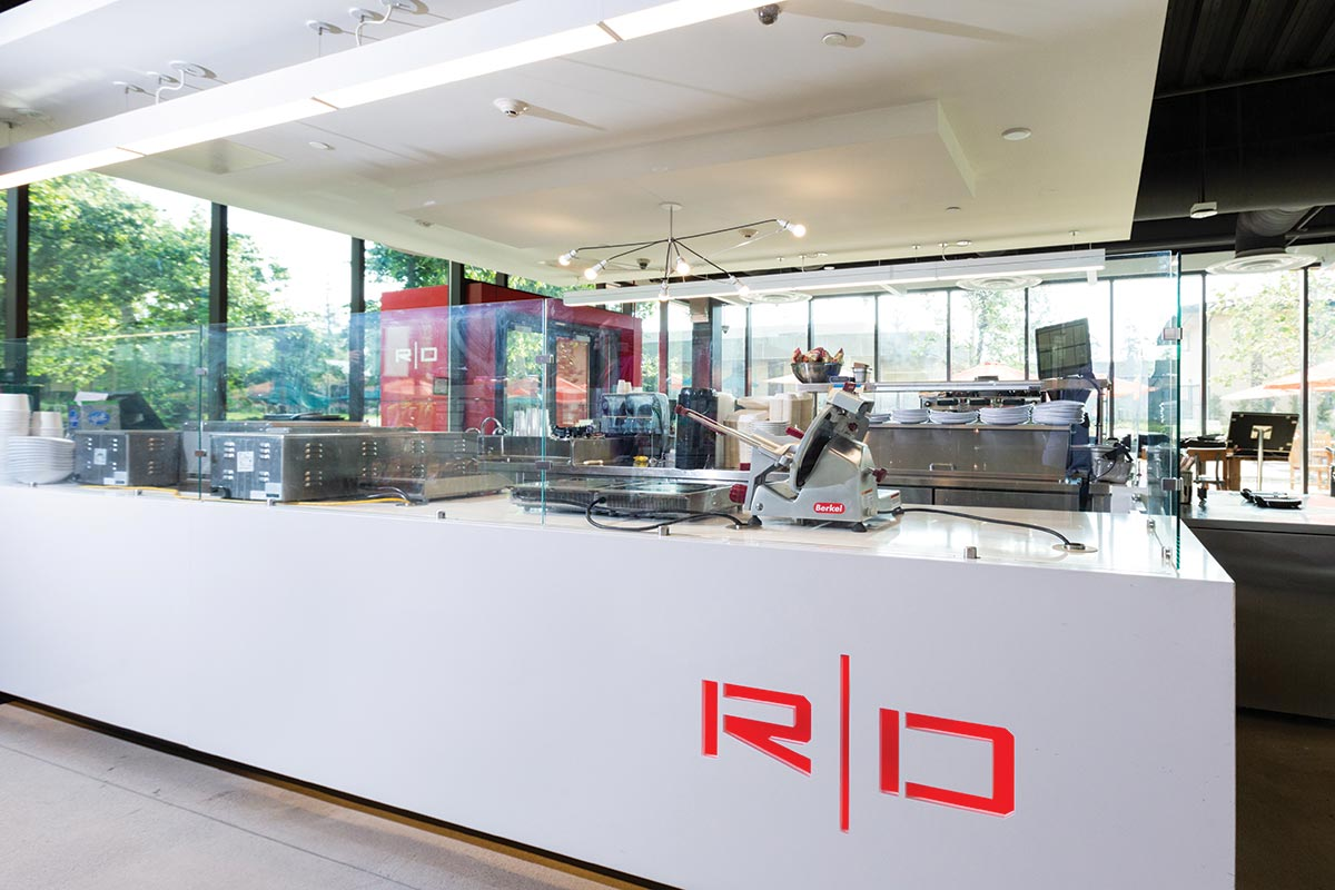 Caltech Red Door Marketplace Production Equipment