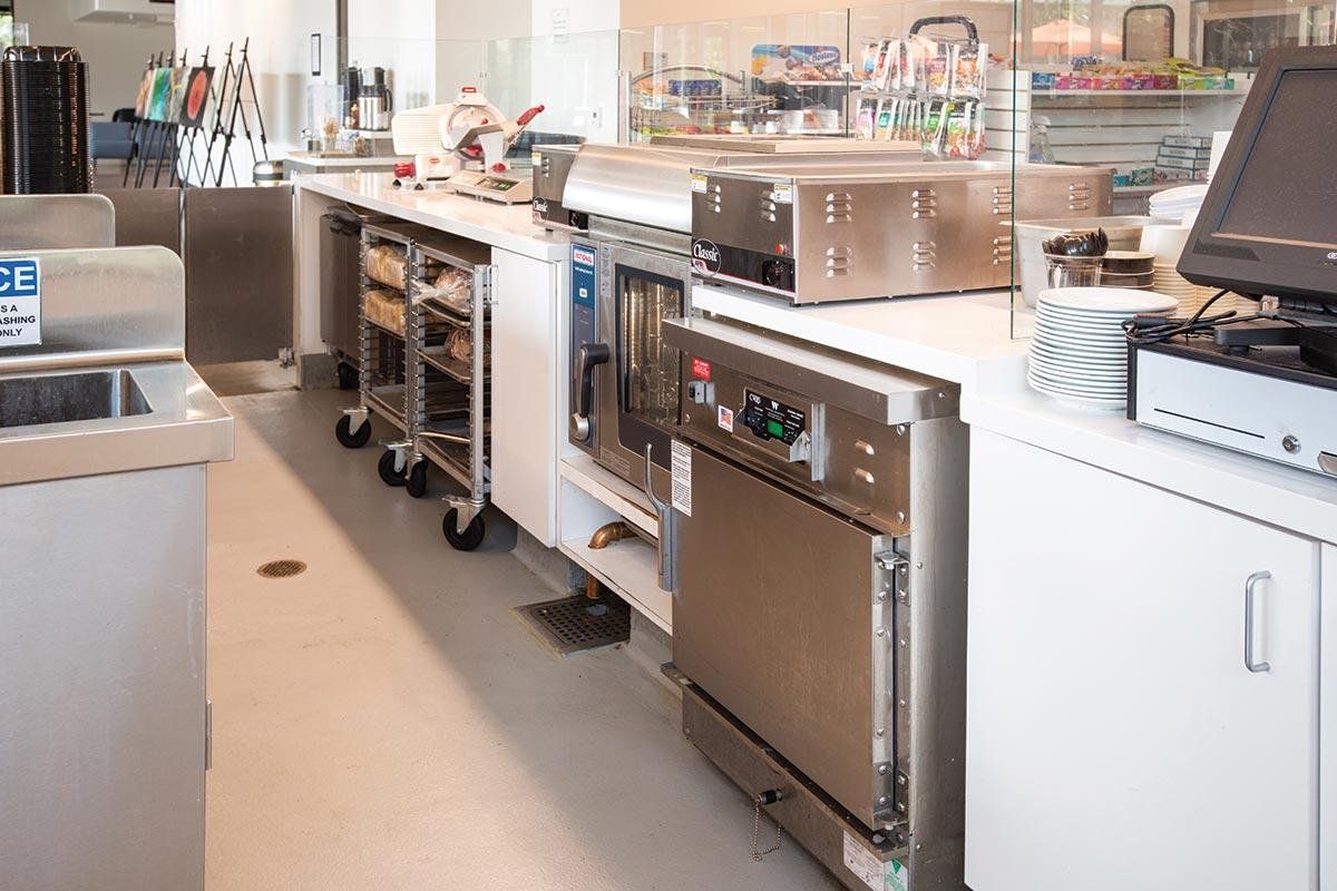 Caltech Red Door Marketplace Ventless Combi Oven
