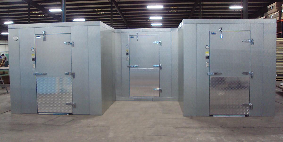 Thermo-Kool U-Shaped Walk-In Cooler/Freezer Unit