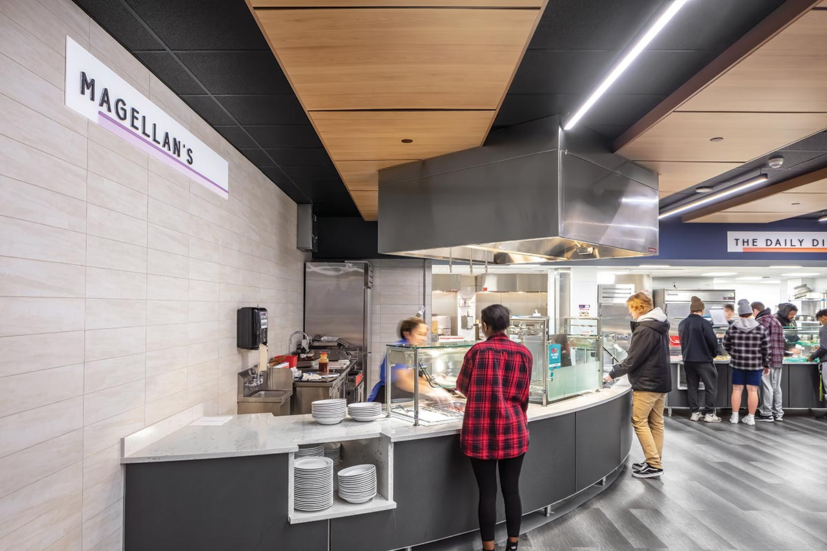 Buena Vista University Dining Hall Energy Efficient Exhaust Hoods