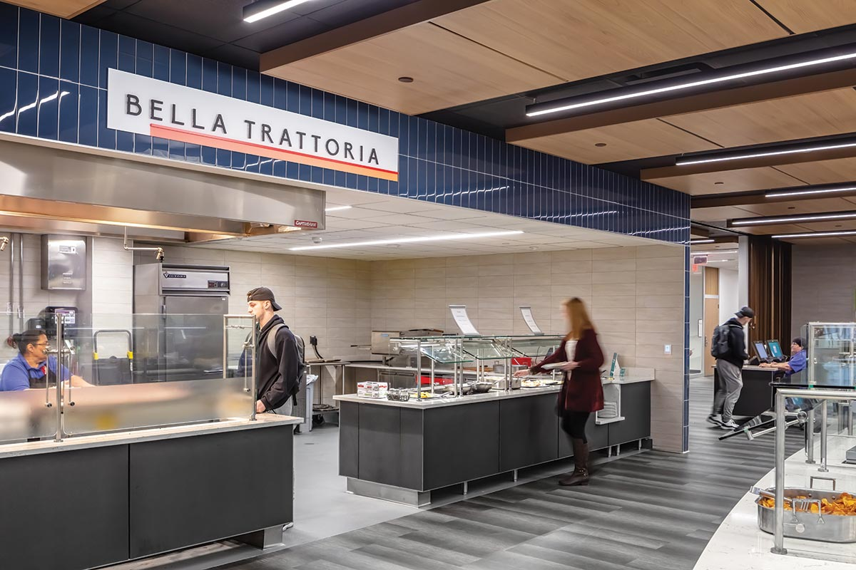 Buena Vista University Dining Hall Pizza and Grill Concept