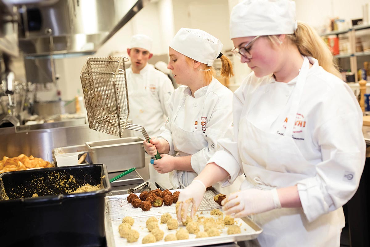 New Orleans Culinary & Hospitality Institute Culinary Lab