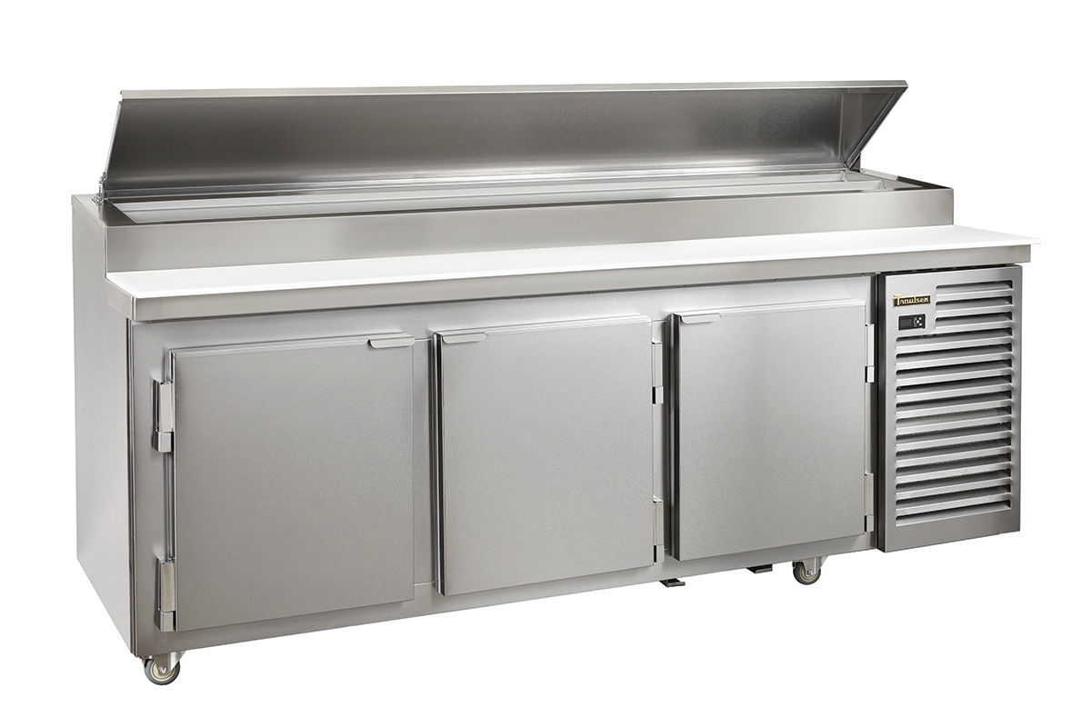 Traulsen Pizza Prep Table With Doors