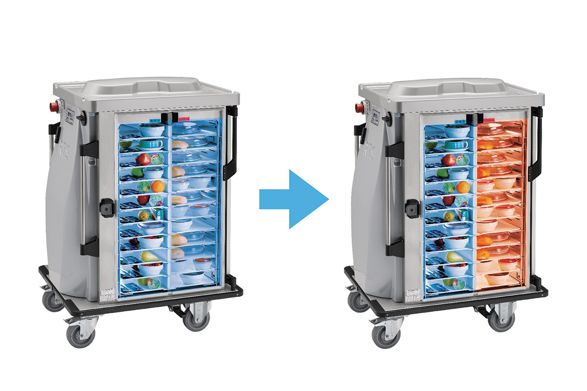 Convection Meal Tray Retherm Carts