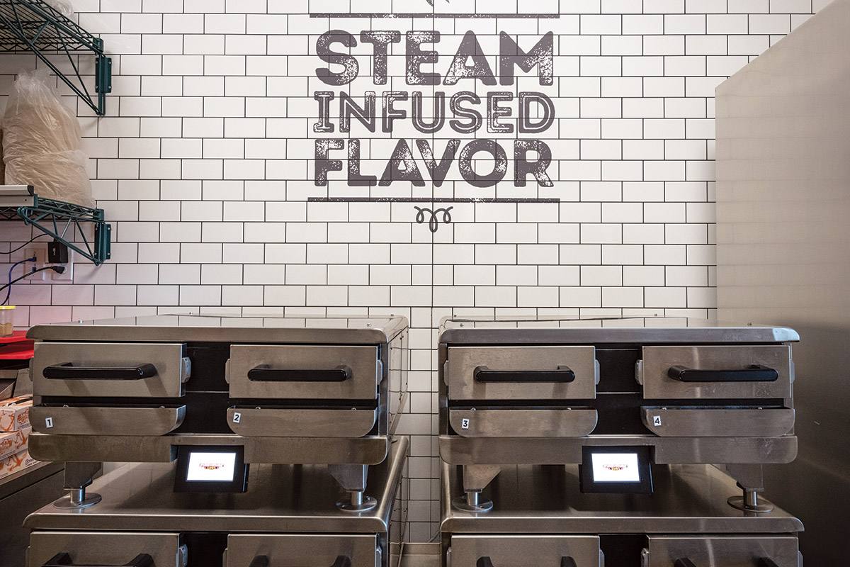 Boiler Based Steamers at Firehouse Subs