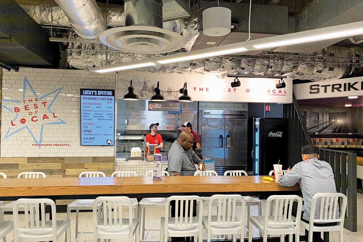 Norris University Center Best of Local Food Court
