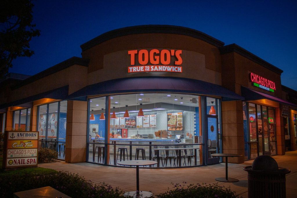 Togo's outside