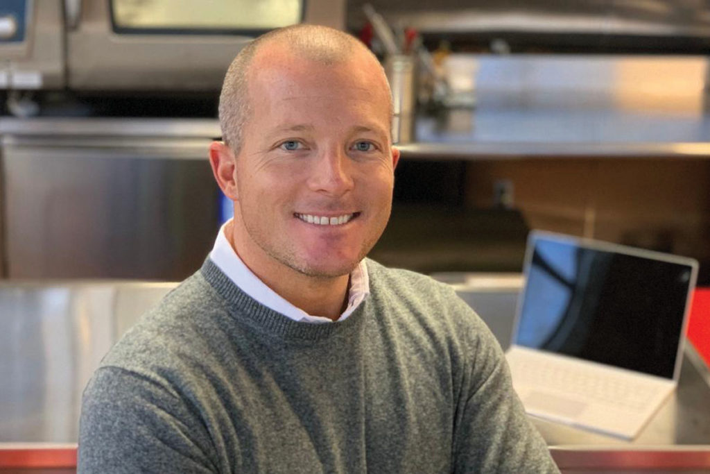 Mitch Marcotte launched Elevate Foodservice Group, which now represents RATIONAL in New England.