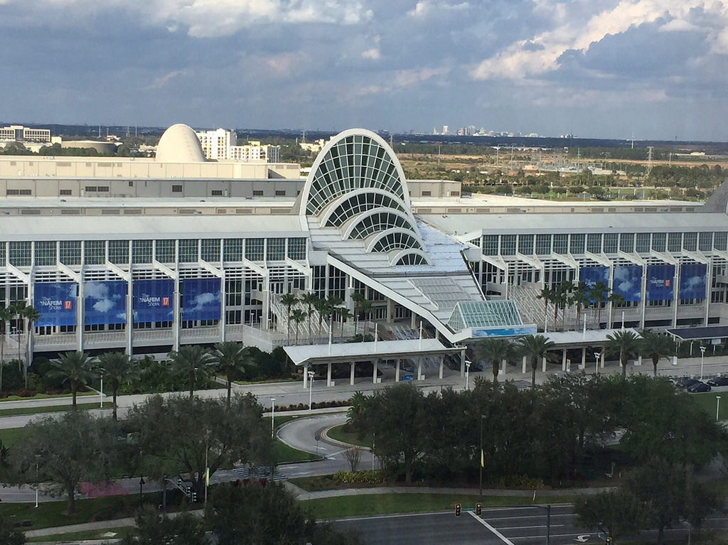 The NAFEM Show will take place at the Orange County Convention Center in Orlando.