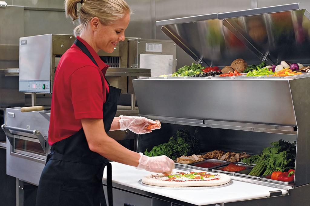 Delfield-Pizza-Prep-Table