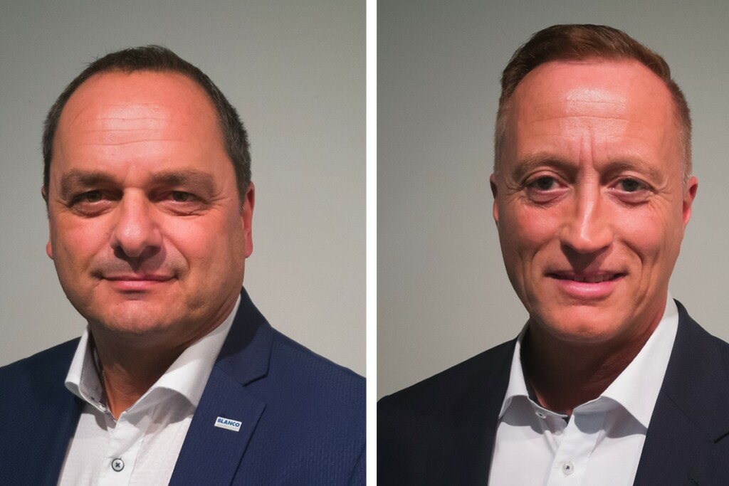 Egon Kofler (left) and Bernd Rupprecht (right). Photo: Courtesy of the Blanco Professional Group