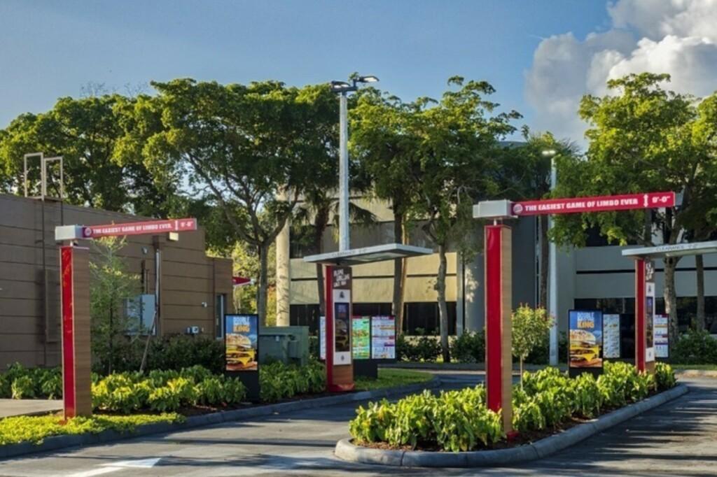 Digital Drive-Thru Menu Boards at Double Drive-Thru Location at Burger King. Photo courtesy of CNW Group/Restaurant Brands International Inc.