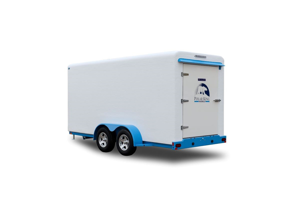 Polar King Mobile refrigerated trailer for foodservice