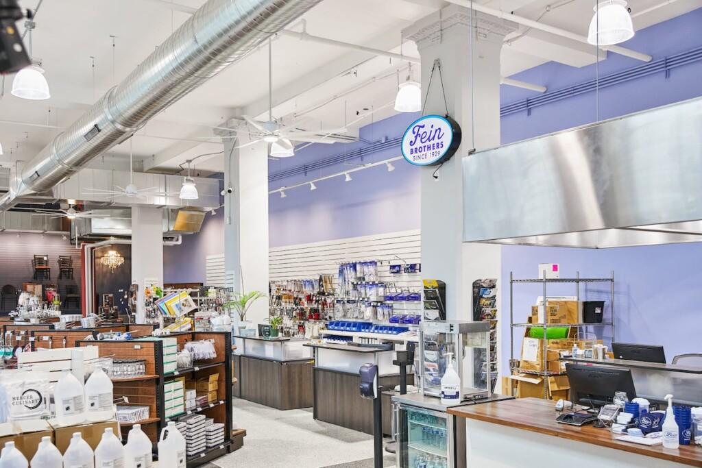 Fein Brothers Restaurant Supplies Showroom Milwaukee