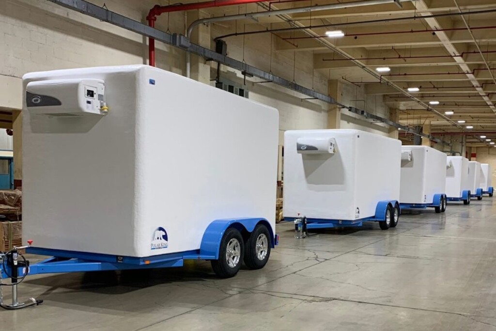 PKM is building a network of national dealers for its small refrigerated trailers. (Photo credit: Facebook/@PolarKingMobile)