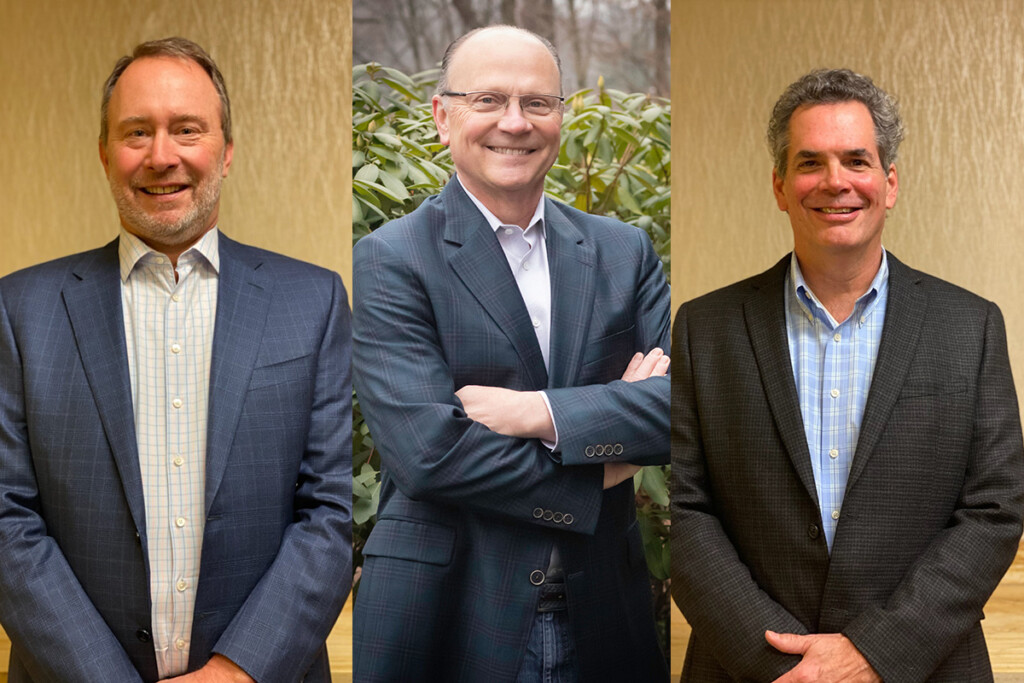 Rod White, Mark Woolcock and Todd Schaeffer assume new roles.