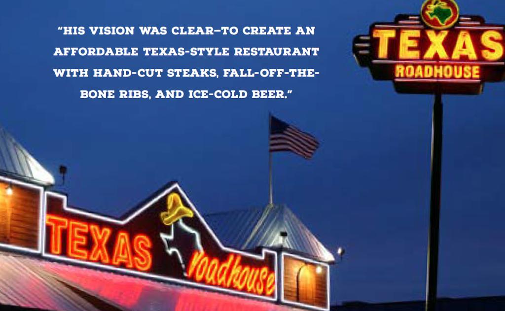 Image Courtesy of Texas Roadhouse Media Kit