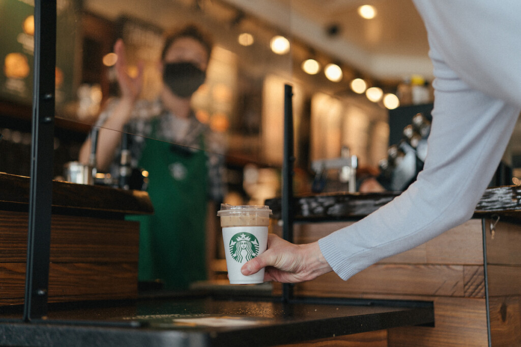 A reusable cup pilot program is underway at select Seattle Starbucks. All Photos Courtesy of Starbucks