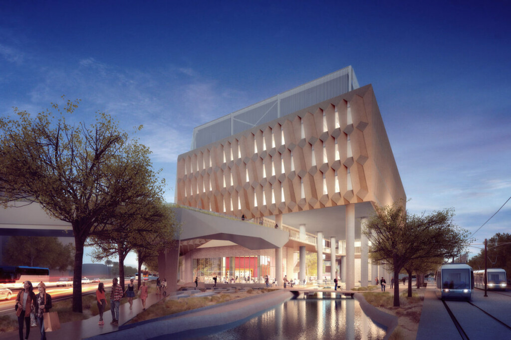 The ASU-Starbucks Center for the Future of People and the Planet will serve as a hotbed for the company's design and product innovations. Rendering Courtesy of Starbucks