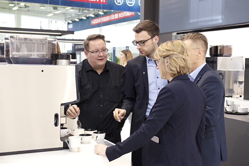 Certified coffee expert Martin Billman leads training at WMF's new Coffee Excellence Centre. Photo Courtesy of WMF