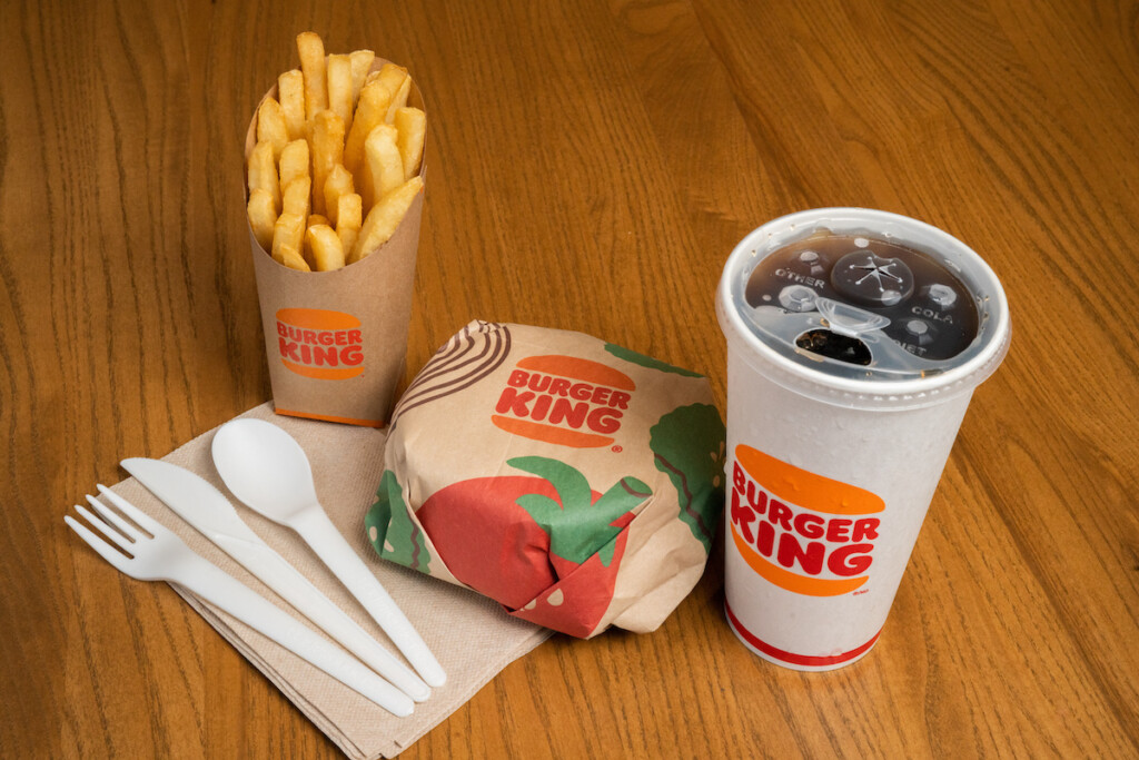 Wanting to reduce its environmental footprint, Burger King is testing sustainable alternatives to some of its most-used items. Photo Courtesy of Burger King