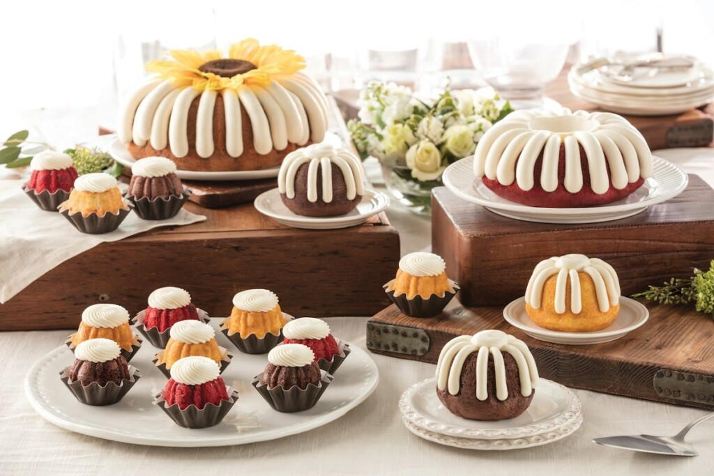 Since 1997, Nothing Bundt Cakes has been true to its name, offering bundt cakes, smaller bundtinis and tiered cakes that have become commonplace at celebrations of all sizes. Photo Courtesy of Nothing Bundt Cakes/Facebook