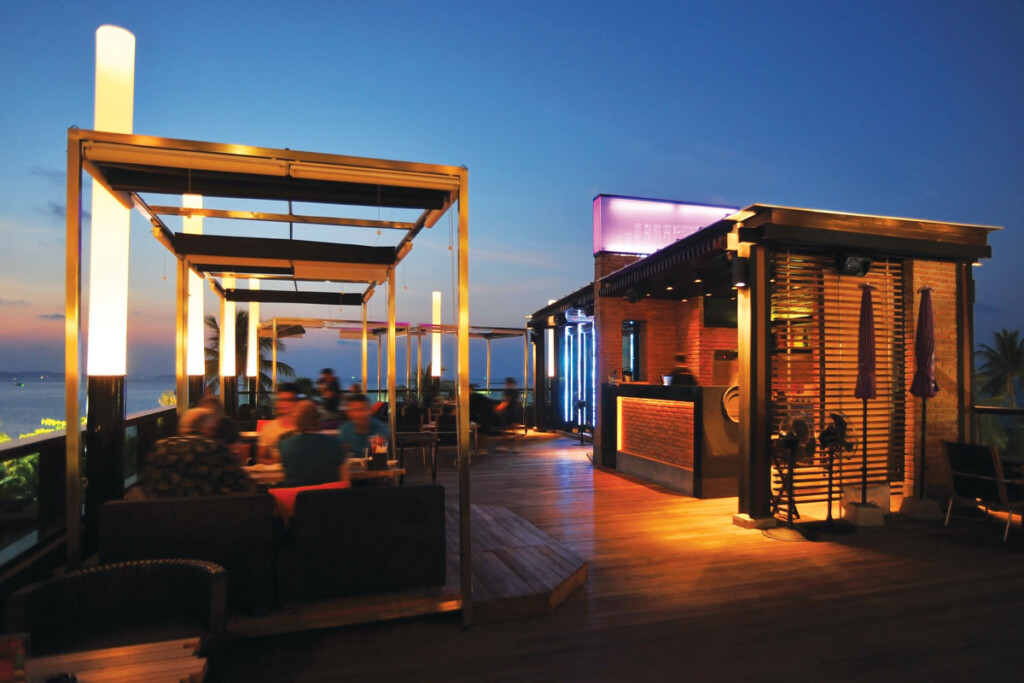 Go for the upgrades, such as a higher-grade stainless, when organizing an outdoor bar. In a completely exposed environment, even traditional stainless will start to degrade eventually.