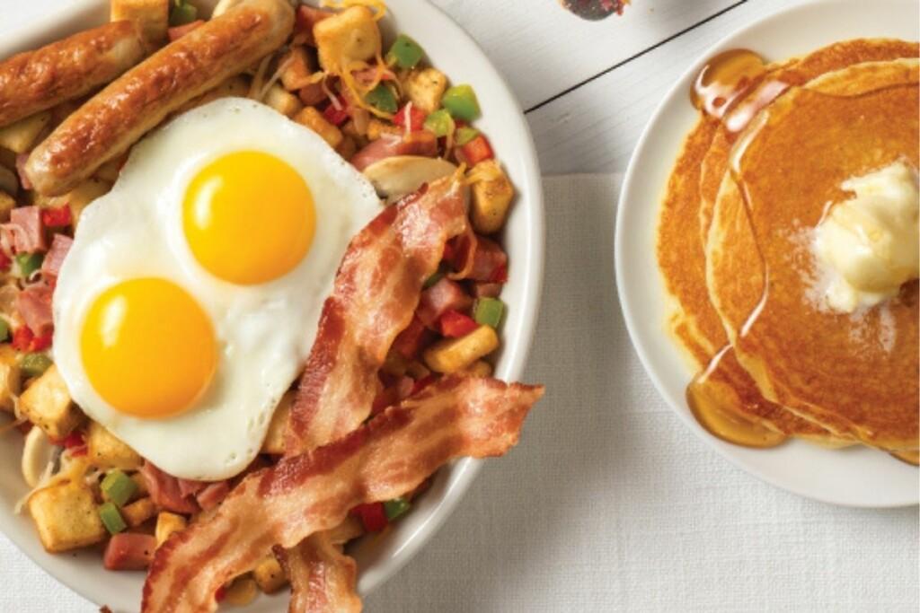 BBQ Holdings acquired Village Inn, a family-friendly restaurant serving breakfast, lunch and dinner. (Photo Courtesy of Village Inn website)